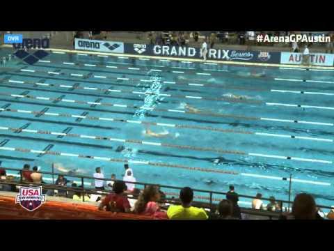 Men's 200 Meter Backstroke Prelims 2014 Arena Grand Prix At Austin