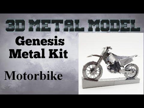 Genesis Metal Model Build - Motorbike