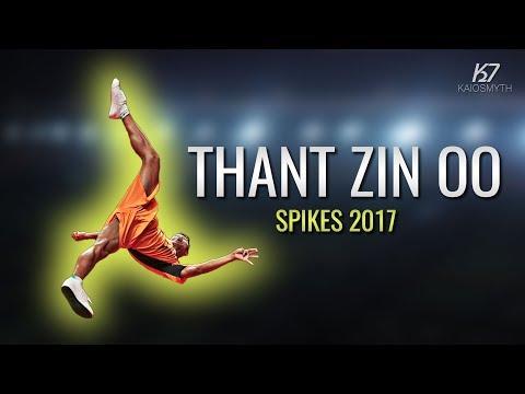 Sepak Takraw ● Thant Zin Oo ● Spikes and Skills | 2017 | HD