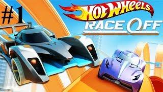 Hot Wheels Race Off Игра Мультик для детей Опасные гонки на машинках ХОТ ВИЛС ГАРЯЧИЕ КОЛЕСА