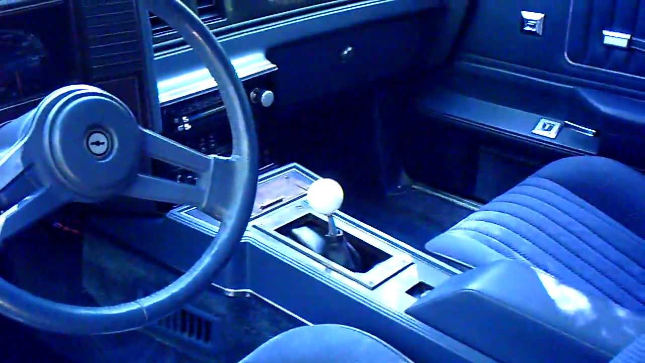 1984 monte carlo ss 6 speed part 1 youtube rh youtube com monte carlo manual steering box monte carlo manual transmission conversion