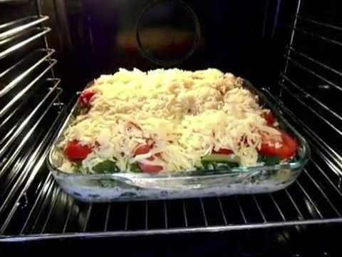 Овощная запеканка с кабачками. Вкусный диетический рецепт
