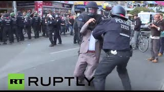 Germany: Berlin police arrest Kurdish and Turkish activists following violence