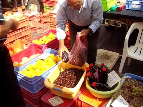 Cyprus - Larnaca Market.AVI