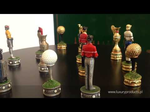 Golf Players  Italfama - luxury chess pieces