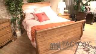 Hillsdale Hamptons Sleigh Bed - Factoryestores.com