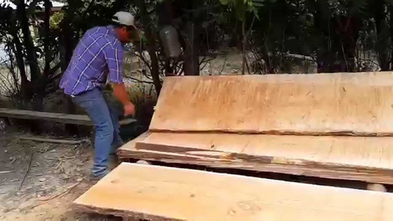 Venta de madera nativa para artesan a y lugar para turismo for Bar rustico de madera nativa