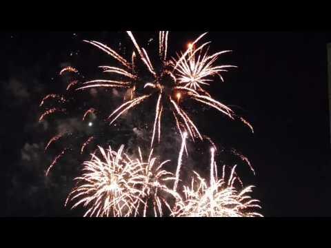 Fireworks at Seneca Niagara casino Niagara Falls, July 3rd 2016