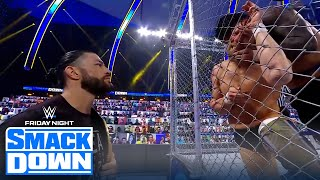 Daniel Bryan and Jey Uso collide in Steel-Cage showdown | FRIDAY NIGHT SMACKDOWN