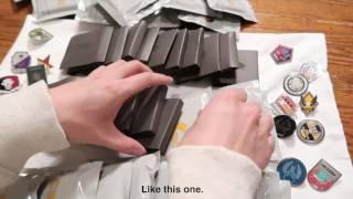 30x CS:GO Series 2 Pins Unboxing