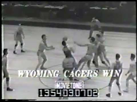 1943 University Of Wyoming Basketball Team (Part 1) - Champions
