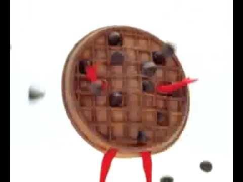 Eggo FlipFlop Waffles Tree Eggoman