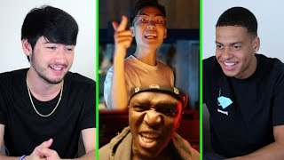 KSI ft Ricegum - Earthquake (Official Music Video) | REACTION