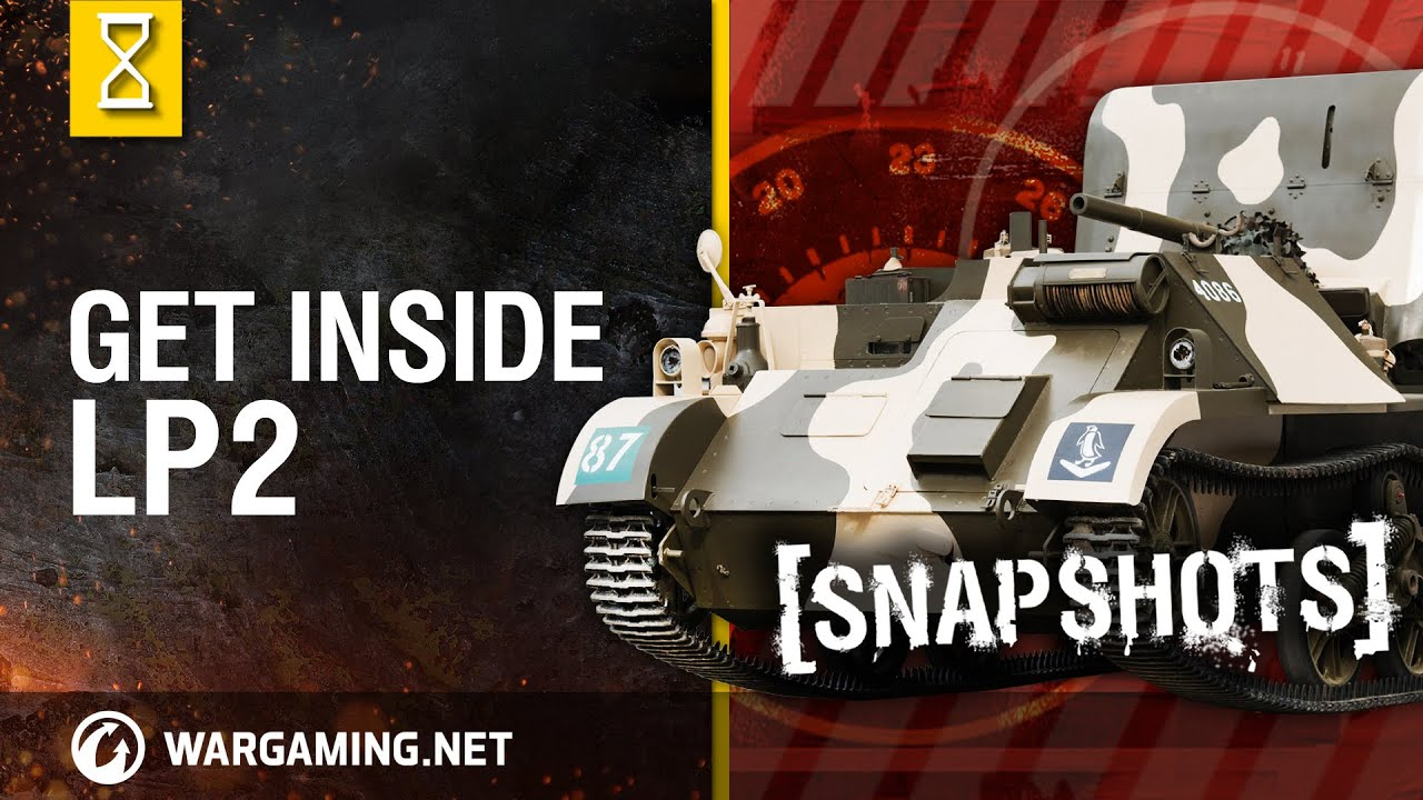 Download Inside the Chieftain's Hatch. Snapshots: LP2 [World of Tanks]