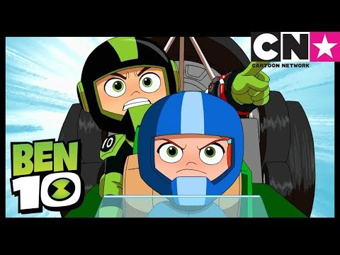 Ben 10 | Ben Drives Crazy Fast - Car Racing | Go-Kart Ben | Cartoon Network