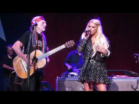 Willie Nelson & Jessica Simpson ~ I Will Be Your Fool ~ OC Fair ~8/9/2018