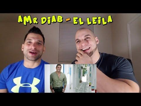 Amr Diab - El Leila [REACTION]