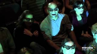 3-D Movies Can Cause Motion Sickness