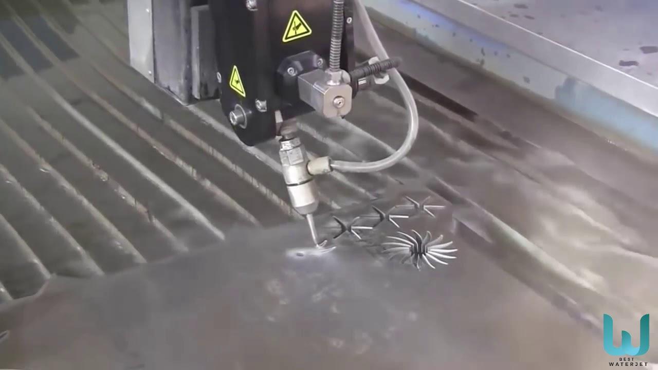 Cortadora por agua CNC WATER CUTTING MACHINE BEST WATER JET