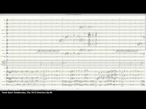 Tchaikovsky The 1812 Overture Op49  Programed in Finale 2014  pkmtKuma