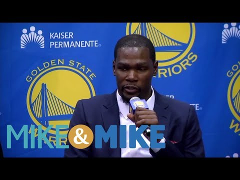 Spears: Durant Is Tired Of Talk Sports Radio | Mike & Mike | ESPN