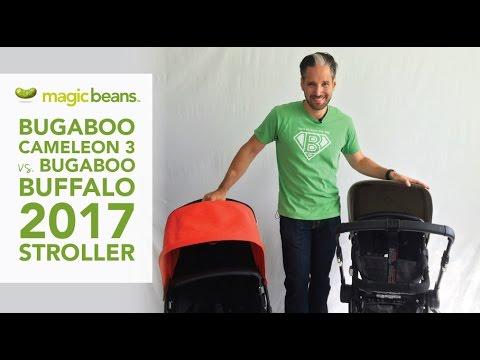 Bugaboo Cameleon 3 vs. Bugaboo Buffalo 2017 Stroller Comparison | Most Popular | Best Strollers