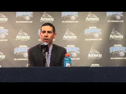 James Borrego Postgame Press Conference 2/25/15 vs Heat