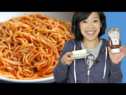 Mama June's Sketti - KETCHUP + BUTTER spaghetti | Honey Boo Boo Recipe Taste Test