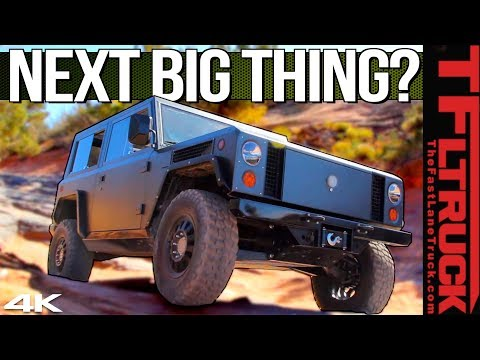 EXCLUSIVE! Meet the Bollinger Trucks That Can Off-Road Like a Jeep and Haul Heavy