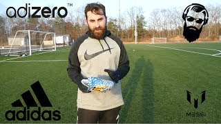 საფეხბურთო ბუცების adidas 'Battle pack' adizero F50 'Messi' ის მიმოხილვა