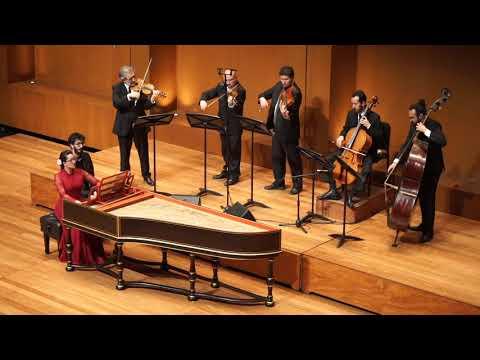 ENSAMBLE BARROCO DE BOGOTÁ - Juan Sebastián Bach - Concierto en Mi Mayor para 1 Clavecín BWV 1053