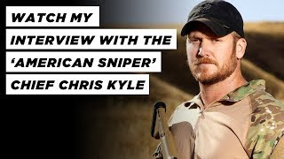 One-on-one Interview - 'American Sniper' Chief Chris Kyle - Navy Seal w/ Ed Young