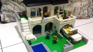Como construir uma casa média de Lego 2 - parte 1