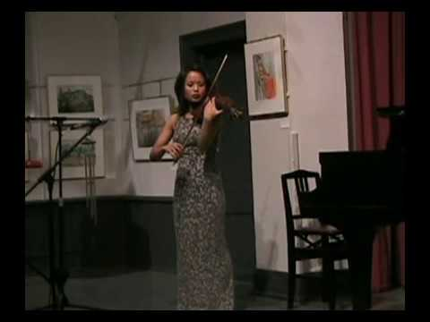 Lynn Kuo, violin: Davidovsky Synchronisms No. 9 , 2 of 2
