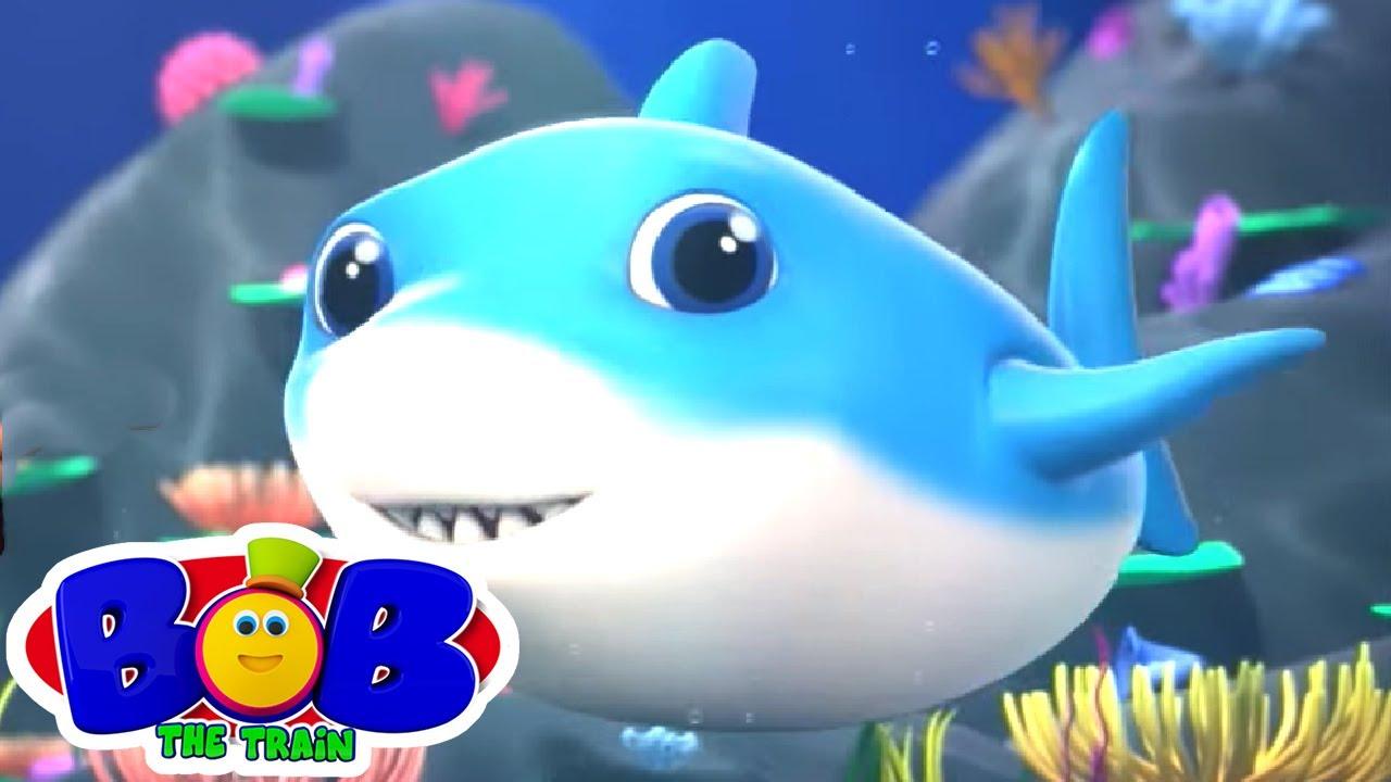Cá mập con | Video mầm non | Vần điệu trẻ | Bob The Train Vietnam | Bài thơ cho trẻ em