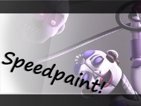 [FNAF:SL] Speedpaint: Is Someone There?