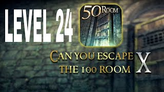 Can You Escape The 100 room X level 24 Walkthrough