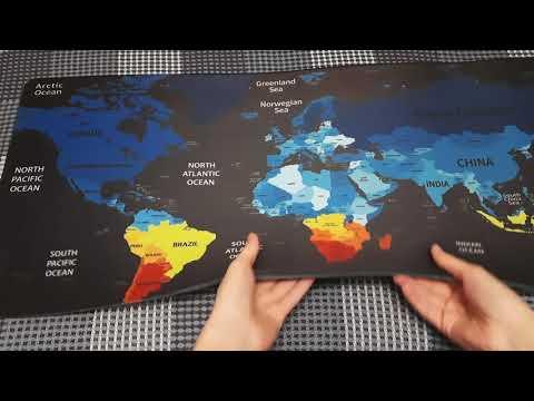 Игровая поверхность Protech World 900x400 мм (PR-1662)