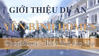 Yên Bình Homes | ShopHouse, Biệt thự liền kề cao cấp tp Vinh | 0918553322