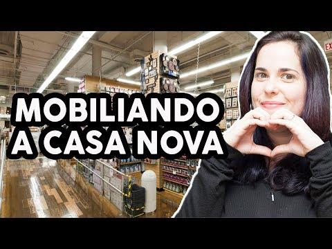 MOBILIANDO A CASA NOVA - Compras na Bed, Bath and Beyond e IKEA!