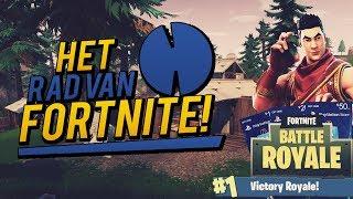 HET RAD VAN FORTNITE GEEN LOOT VAN NO SKIN?! Fortnite Battle Royale #2