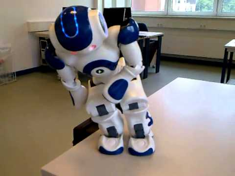 Nao Robot - Fighting - YouTube