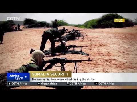 AFRICOM confirms launching an air strike against Al Shabaab