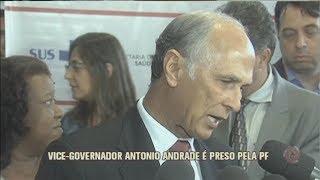Vice-governador preso na Lava-Jato