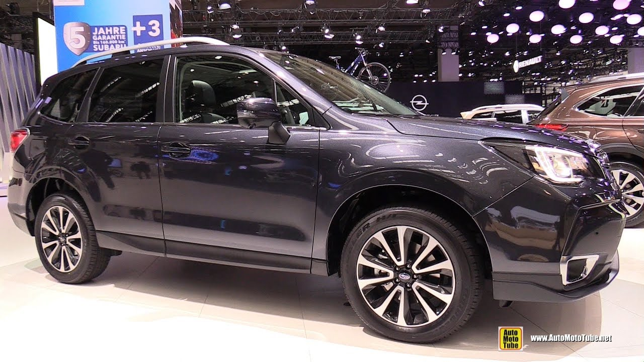 2018 subaru forester xt exterior and interior walkaround. Black Bedroom Furniture Sets. Home Design Ideas
