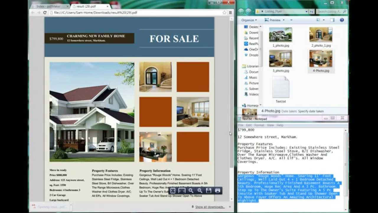 how to create stunning real estate flyers online in minutes