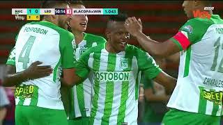 Nacional vs  Leones (3-1) | Copa Aguila 2018 | Semifinal Vuelta