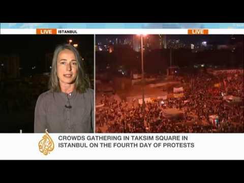 Update from Turkey's Taksim Square