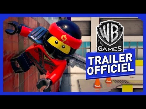 Lego Ninjago Le Film Le Jeu Vidéo Lagilité Du Ninja Trailer Officiel