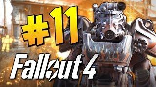 Прохождение Fallout 4 - Рейд на Супермутантов (Форт-Стронг)! #11 (60 FPS)